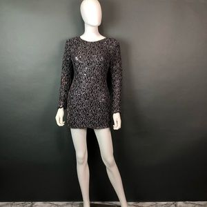 Mm couture sequins cocktail dress